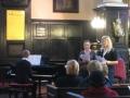 Dzied Lauma un Anete, pie klavierēm Jānis