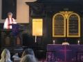 Svētrunu teic draudzes mācītāja Elīza Zikmane