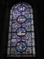 Kanterberijas katedrāles vitrāža