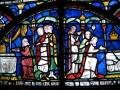 Kanterberijas katedrāles vitrāžas fragments