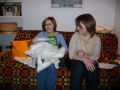Divas jubilāres - mācītaja Elīza un Terēze