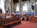 Pēc pusdienām ierodamies uz kopīgo Rietumanglijas-Velsas un Apv. Londonas un Miera draudžu dievkalpojumu Sv. Bartolomeja baznīcā