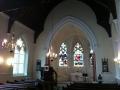 Pirms dievkalpojuma baznīca ir klusa