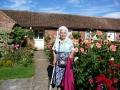 Irma Ernstsone mājās pēc dievkalpojuma