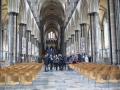 Solsberijas katedrāles iekšienē