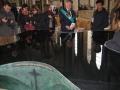 Kristāmtrauks (2008.g). Ūdens virsma ir tik gluda kā spogulis.