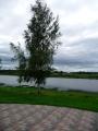 Skats no Amatniecības centra uz Daugavu.