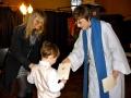 Rufus saņem kristību apliecību