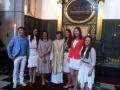 No kreisās: Rihards Kols, Zane Prauliņa, Inese Kurbe, māc. Elīza Zikmane, Evija Pelce, Arita Mazlazdiņa, Līva Aumeistere