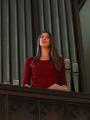 Dzied pārstāve no Zviedru draudzes