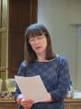 Revīzijas komisijas ziņojums no Paulīnes Buchanan