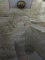 Mūra kāpnes galdnieka Jāzepa mājā pa kurām iespējams kādreiz staigāja Jēzus Kristus, Nācerete