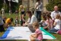 Maija siltajā dienā Rofantā notika Ģimenes dienas pasākumi