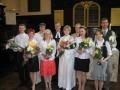 Londonā 24. maijā un Rofantā 7. jūnijā notika kristības un jauno draudzes locekļu iesvētības. Jaunie draudzes locekļi kopā ar prāv. Andri Abakuku, draudzes māc. Elīzu Zikmani un draudzes priekšnieci Rūtu Abakuku. No kreisās: Jānis Zaikovskis, Gunita Zilpauša, Andis Armanis, Ieva Buševica, prāv. Andris Abakuks, māc. Elīza Zikmane, Rūta Abakuka, Daiga Kauliņa, Sandra Bērziņa un Didzis Mucenieks