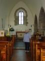 Forest Church. Šeit notika pirmie latviešu dievkalpojumi.