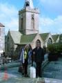 St. Peter Port pilsētas baznīca, kur notiek latviešu dievkalpojumi