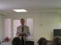 Prāv. Dr. Andris Abakuks atklāj Sinodi ar svētbrīdi