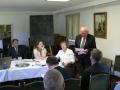 Austrumanglijas draudzes ziņojumu lasa Derbijas kopas vecākais Gunārs Līcietis