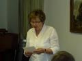 Ziemeļanglijas-Bradfordas draudzes ziņojumu lasa māc. Gita Putce