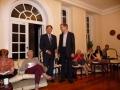 Prof. emeritus Dr. Reinhards Vītols un Dr. Andris Abakuks Vakarēšanā