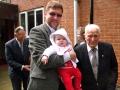 Dievkalpojuma jaunākā apmeklētāja bija vēstnieka Eduarda Stiprā piecarpus mēnešus vecā meita Anna un vecākais apmeklētājs bija Andrejs Zeps, kas 2011. g. novembrī svinēja 100. dzimšanas dienu.