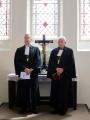 Prāv. Dr. Andris Abakuks un prāv. emeritus Juris Jurģis