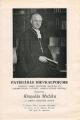 Pateicības dievkalpojums prāv. Ringoldam Mužikam. Miera draudze 1969. gada 28. septembrī.