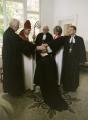 Mācītājas Elīzas Zikmanes ordinācija 2004.g. 23. maijā Annabergā, Vācijā