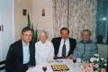 Archib. E. E. Rozītis cela uz Sinodi viesojās pie Jāņa un Skaidrītes Apšiem (1999.g.)